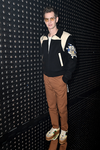 Andrew Garfield「Gucci - Front Row - Milan Fashion Week Autumn/Winter 2019/20」:写真・画像(13)[壁紙.com]