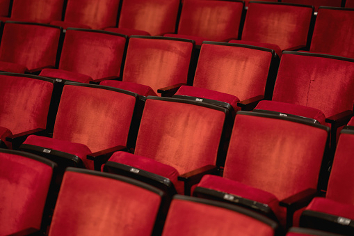 Musical Theater「Empty seats at the movie theater」:スマホ壁紙(4)