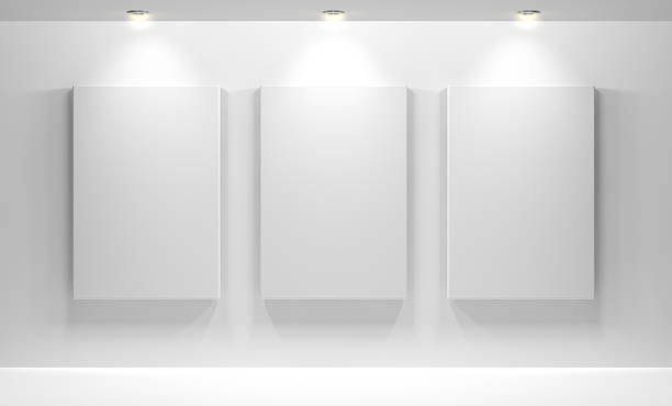 Gallery Interior with empty:スマホ壁紙(壁紙.com)