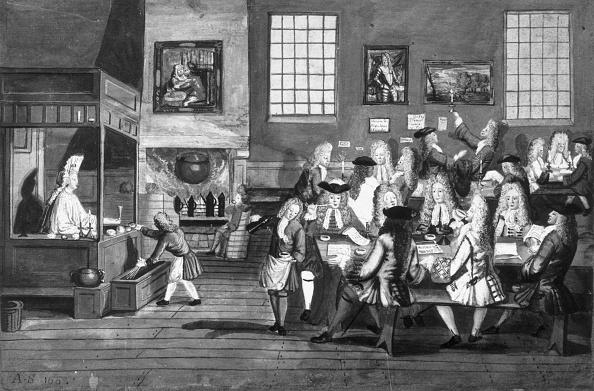 17th Century「Coffee House」:写真・画像(6)[壁紙.com]