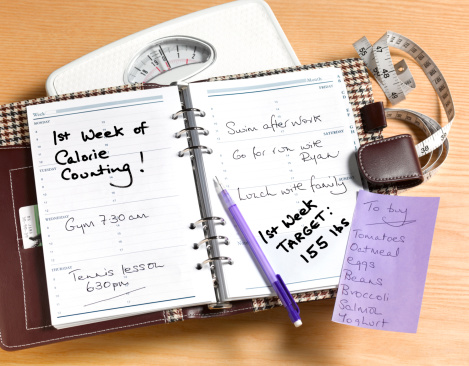 Writing「Counting calories diary」:スマホ壁紙(4)
