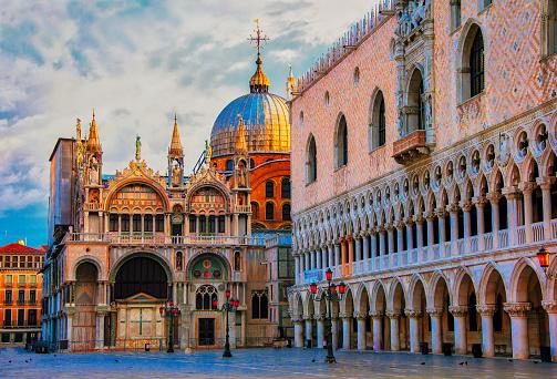 St「St. Mark`s Square, Venice, Veneto, Italy」:スマホ壁紙(3)