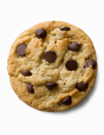 Composition「Single chocolate chip cookie」:スマホ壁紙(8)