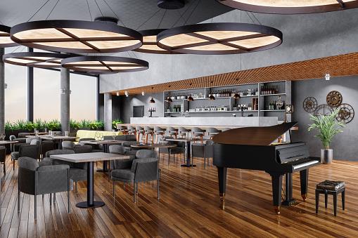 Fine Dining「Luxury Bar And Piano Lounge」:スマホ壁紙(10)