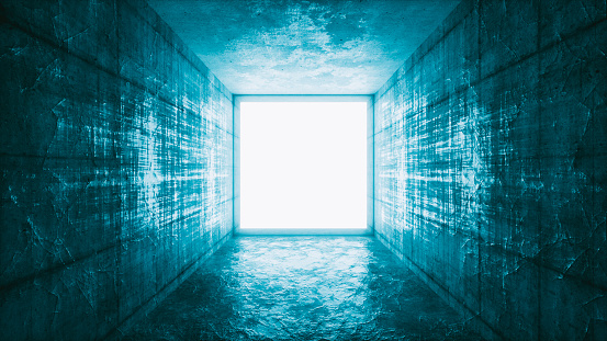 Back Lit「Mysterious glowing window portal」:スマホ壁紙(6)