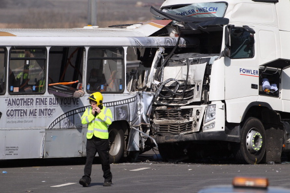 Traffic Accident「Over 30 Injured and One Dead as Coach and Lorry Crash on M5」:写真・画像(9)[壁紙.com]