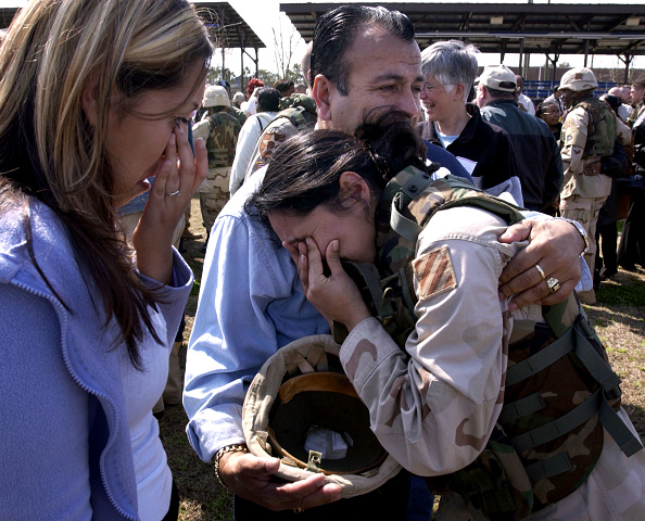 Fort Stewart「250 Soldiers Return From Iraq To Fort Stewart」:写真・画像(8)[壁紙.com]