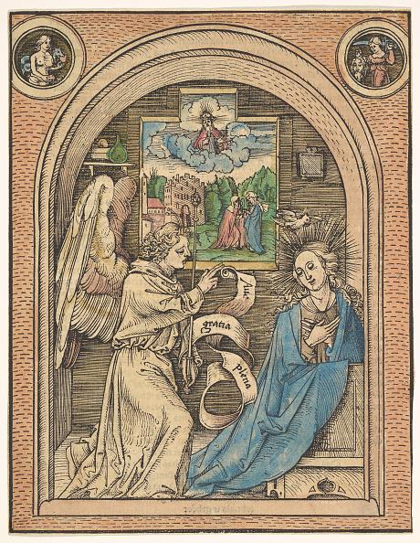 Virgin Mary「The Annunciation」:写真・画像(13)[壁紙.com]