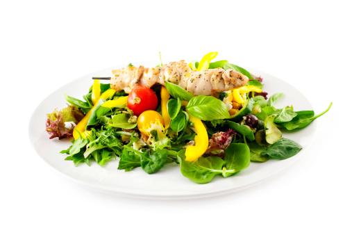 Roast Chicken「Chicken Kebab with Salad」:スマホ壁紙(11)