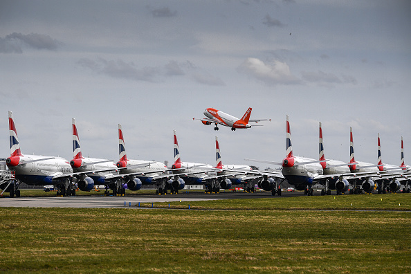 Airport Runway「Scotland Feels The Impact Of Coronavirus」:写真・画像(4)[壁紙.com]