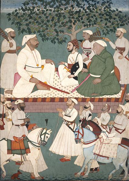 Government Building「Maharaja Sidh Sen Receiving An Embassy」:写真・画像(14)[壁紙.com]