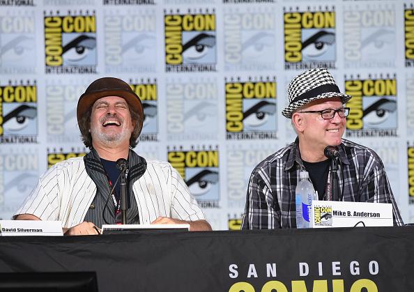 "David Silverman「Comic-Con International 2017 - ""The Simpsons"" Panel」:写真・画像(2)[壁紙.com]"