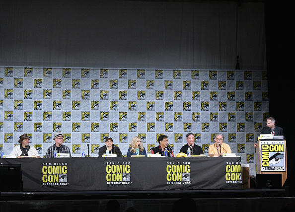 "David Silverman「Comic-Con International 2017 - ""The Simpsons"" Panel」:写真・画像(1)[壁紙.com]"