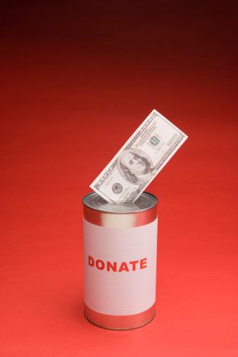 American One Hundred Dollar Bill「Donation can」:スマホ壁紙(0)