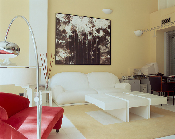 Home Decor「View of an eclectic living room」:写真・画像(12)[壁紙.com]