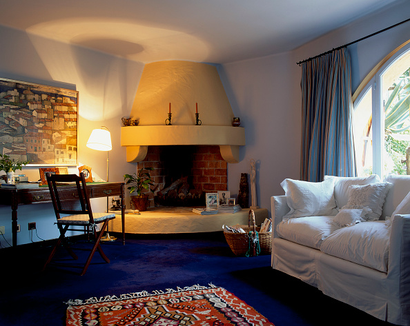Rug「View of an illuminated living room」:写真・画像(9)[壁紙.com]