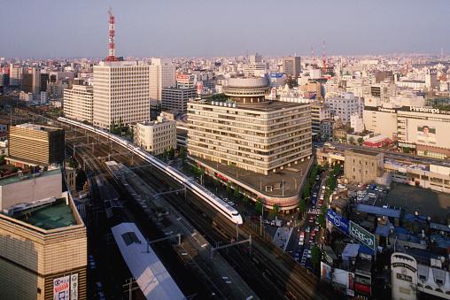 1980-1989「Bullet Train Through Tokyo」:スマホ壁紙(13)