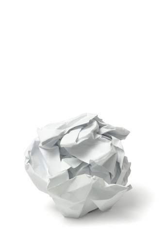 Problems「Crumbled Paper」:スマホ壁紙(16)