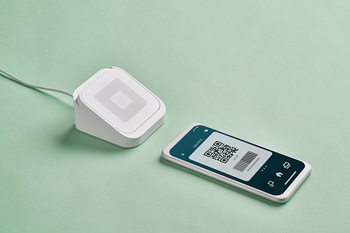 Mobile Payment「Close up of Contactless Payment」:スマホ壁紙(18)