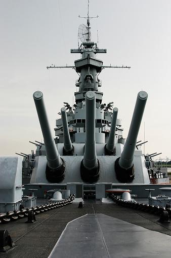 Battle「Close up of the battleship USS Alabama」:スマホ壁紙(19)