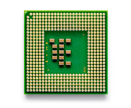 Computer Chip「A close up of an electronic chip used for technology 」:スマホ壁紙(11)