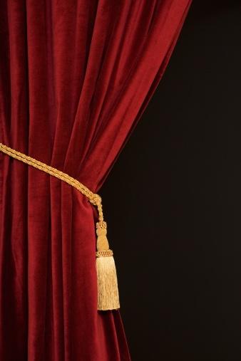 Curtain「Close up of curtain and tieback」:スマホ壁紙(8)