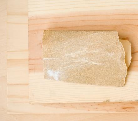 Carpentry「Close up of sandpaper on wood」:スマホ壁紙(1)