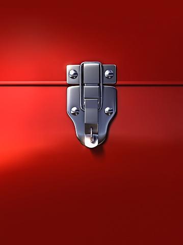 Protection「Close up of lock on metal box」:スマホ壁紙(10)