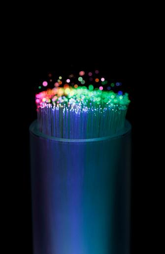 Big Data「Close Up of Fiber Optic Cables」:スマホ壁紙(3)