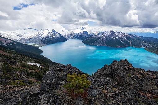 British Columbia「Panorama Ridge in summer, BC, Canada」:スマホ壁紙(8)