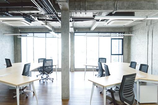 Studio - Workplace「Empty coworking space」:スマホ壁紙(19)
