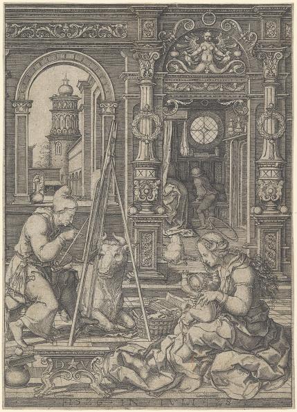 Model House「Saint Luke Painting The Virgin」:写真・画像(8)[壁紙.com]