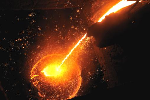 Mill「molten iron」:スマホ壁紙(13)