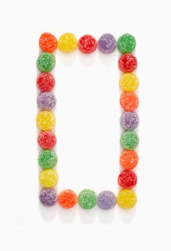 Gummi candy「Gumdrop border」:スマホ壁紙(18)