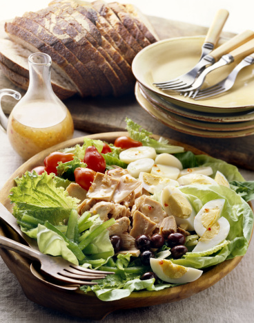 French Culture「Bowl of salad nicoise」:スマホ壁紙(9)