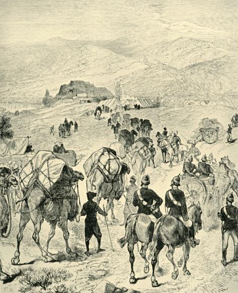 Mammal「Camp Of General Roberts At Thal On The Kuram River」:写真・画像(7)[壁紙.com]