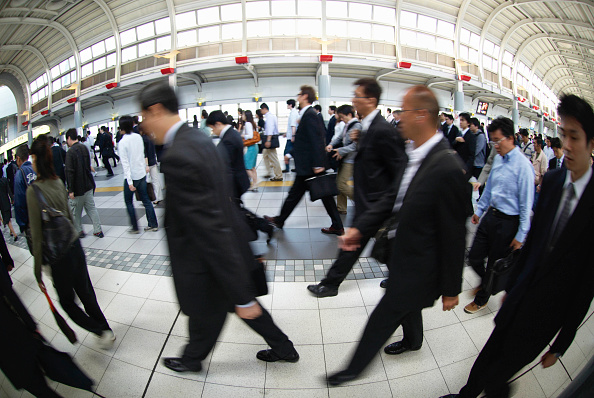 Station「Commuters on the metro, Tokyo, Japan」:写真・画像(15)[壁紙.com]
