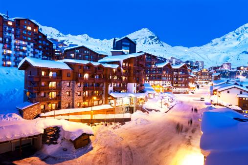 Ski Resort「French Alps, Val Thorens」:スマホ壁紙(18)