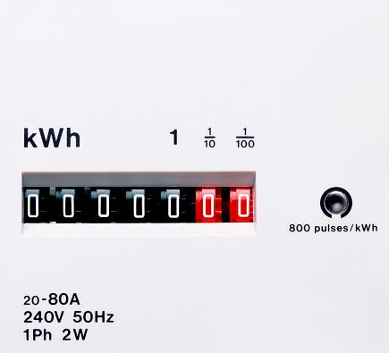 Zero「Electricity meter dial, close-up」:スマホ壁紙(18)