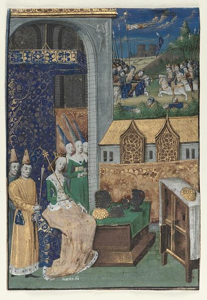 Circa 15th Century「Single Miniature Excised From Boccaccios Des Cleres Et Nobles Femmes: Queen Medusa...,」:写真・画像(11)[壁紙.com]