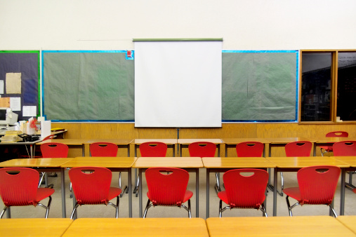 Projection Screen「Old School Classroom」:スマホ壁紙(6)