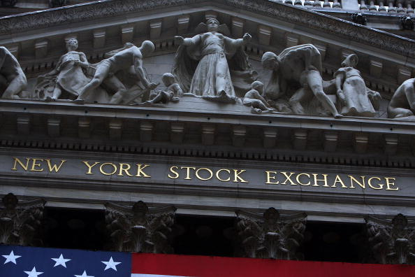New York Stock Exchange「Markets Edge Higher On Earnings Results, As Fed Chair Address Policy In DC」:写真・画像(9)[壁紙.com]