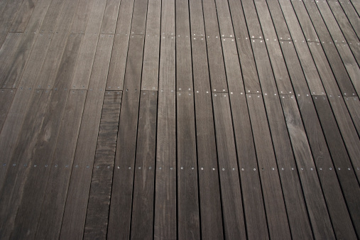 Pier「Row of stained wood texture background」:スマホ壁紙(1)