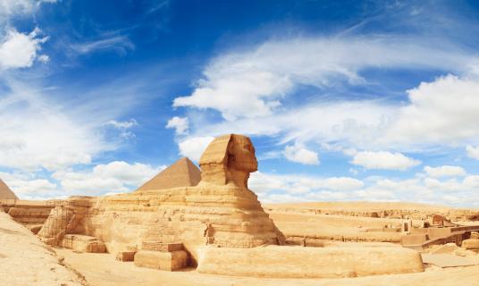 Egypt「Sphinx Panorama」:スマホ壁紙(17)