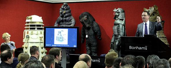 Dan Kitwood「Doctor Who Memorabilia Is Auctioned At Bonhams」:写真・画像(16)[壁紙.com]