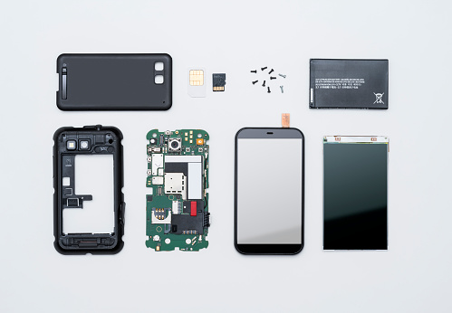 Touch Screen「Disassembled smart phone」:スマホ壁紙(3)