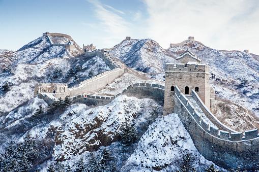 Castle「Snow on the Great Wall」:スマホ壁紙(1)