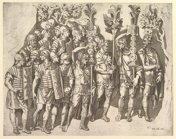 Infantry「Speculum Romanae Magnificentiae: A Roman Legion (From Trajans Column)」:写真・画像(17)[壁紙.com]