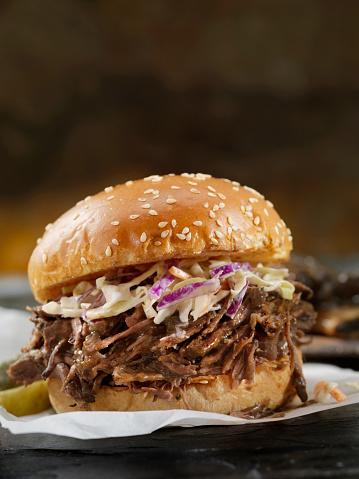 Barbecue Beef「Braised Beef Short Rib Sandwich with Coleslaw on a Brioche Bun」:スマホ壁紙(11)