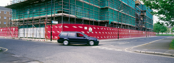 Vitality「Hoardings around construction site Peckham regeneration, London, United Kingdom」:写真・画像(7)[壁紙.com]